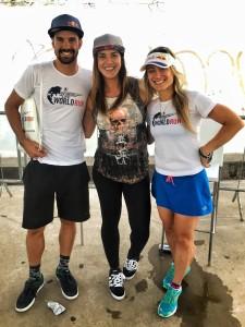 Com os atletas profissionais da Redbull Igor e Fernanda