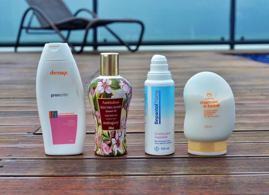 Os produtos que escolhi